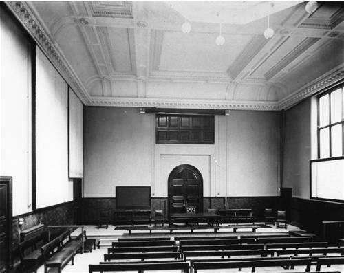 Lecture theatre circa 1890