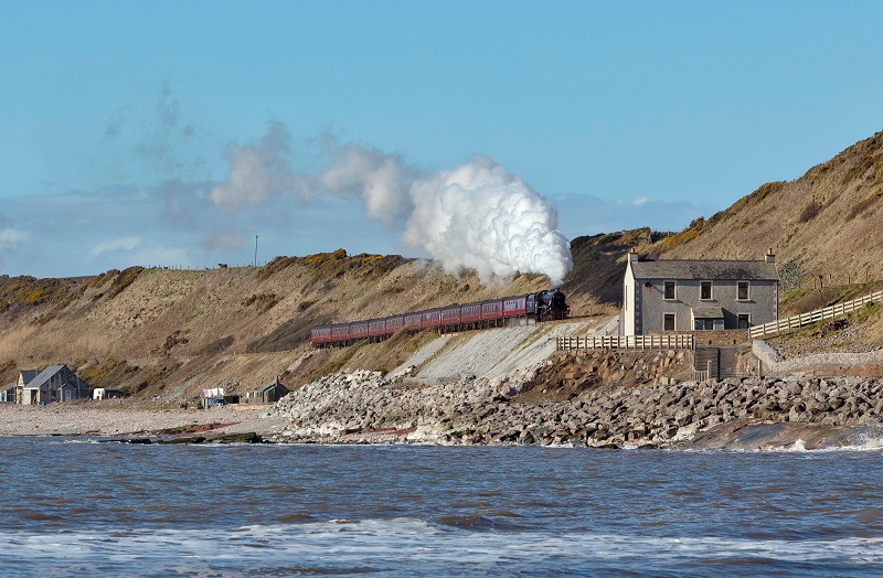 Cumbrian Coast Express, picture Bob Green