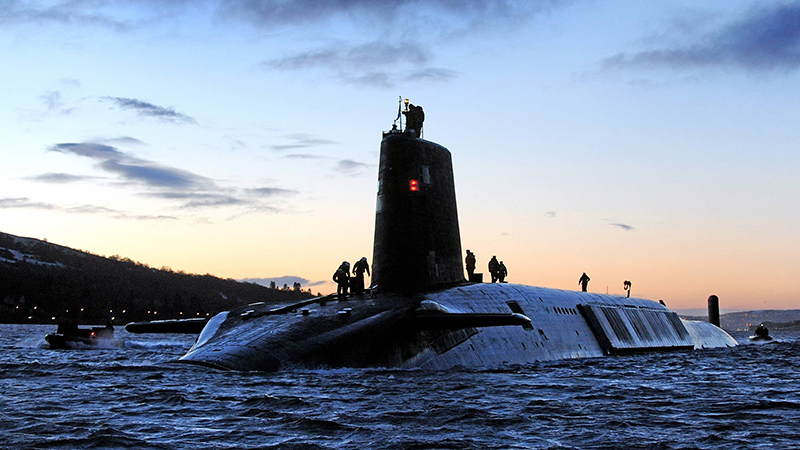 Royal Navy Submariners HMS Oardacious are 'isolation professionals