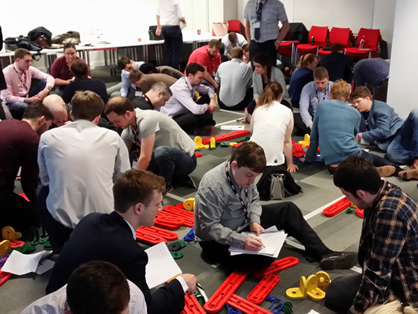 Young Members at the Engineering Challenge event