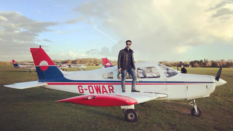 Navid Khordehgah at Denham Aerodrome