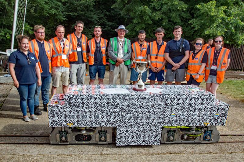 Grand Champion and award winners Ricardo Rail Team