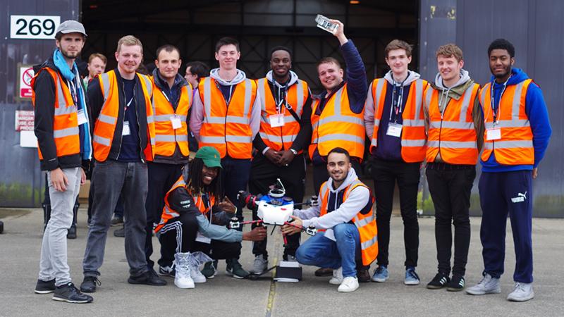 3rd Place Team Hawk Huddersfield