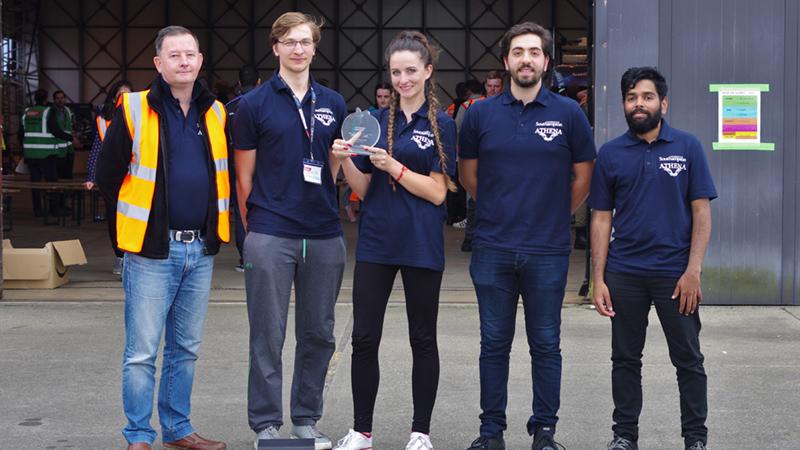 2nd Place Team Athena Southampton