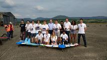 UAS Challenge 2017 winning team - Bath Team Drones