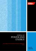 Part A: Journal of Power and Energy