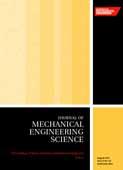 Part C: Journal of Mechanical Engineering Science