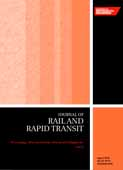 Part F: Journal of Rail and Rapid Transit