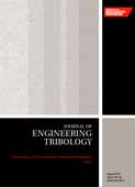 Part J: Journal of Engineering Tribology