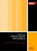 Part K: Journal of Multi-body Dynamics