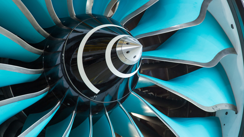The CTi fan system on Rolls-Royce's Advanced Low Pressure System engine demonstrator (Credit: Rolls-Royce)
