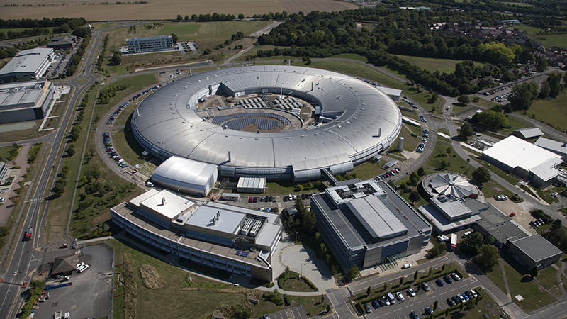 The Diamond Light Source in Harwell (Credit: Diamond Light Source)