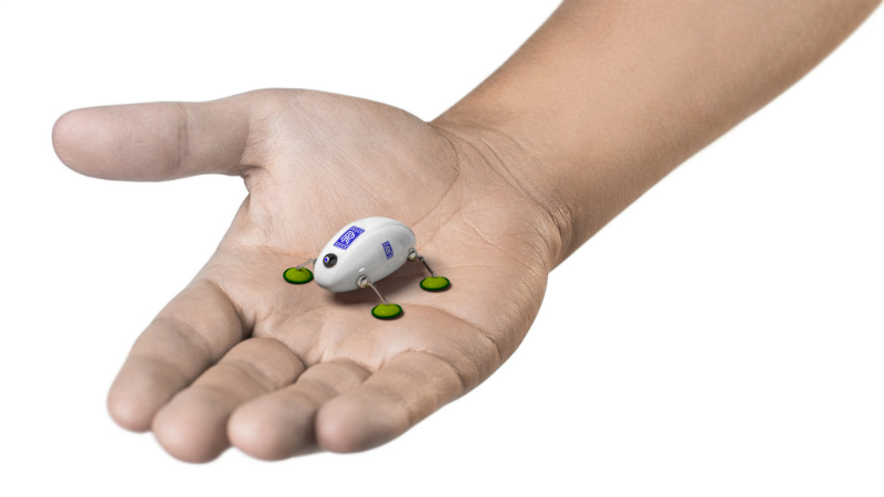 An artist's impression of the cockroach-style inspection robot (Credit: Rolls-Royce)