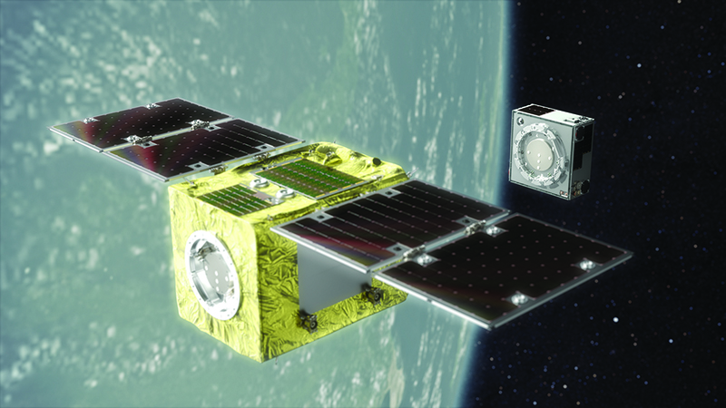 Astroscale's ELSA-d mission will demonstrate the technology required for commercial space debris removal