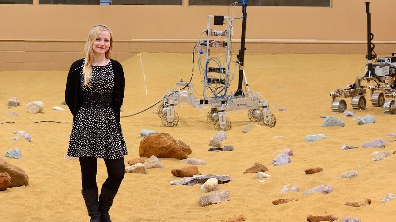 Abbie Hutty (Credit Airbus Defence and Space / Emma Underwood)
