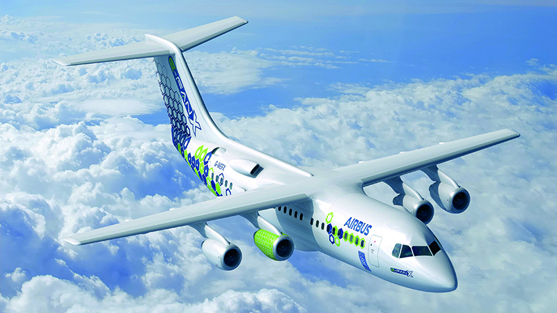 The hybrid-electric E-Fan X was scheduled to fly for the first time next year (Credit: Airbus)