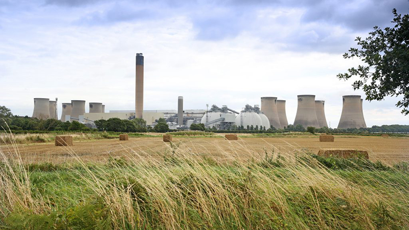 The operators of Drax power station aim to make it carbon negative by 2030