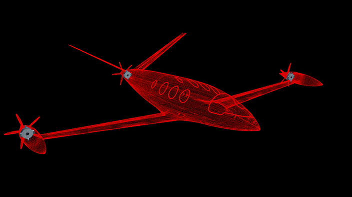 magniX says the Eviation Alice could achieve commercially viable electric flight (Credit: magniX)