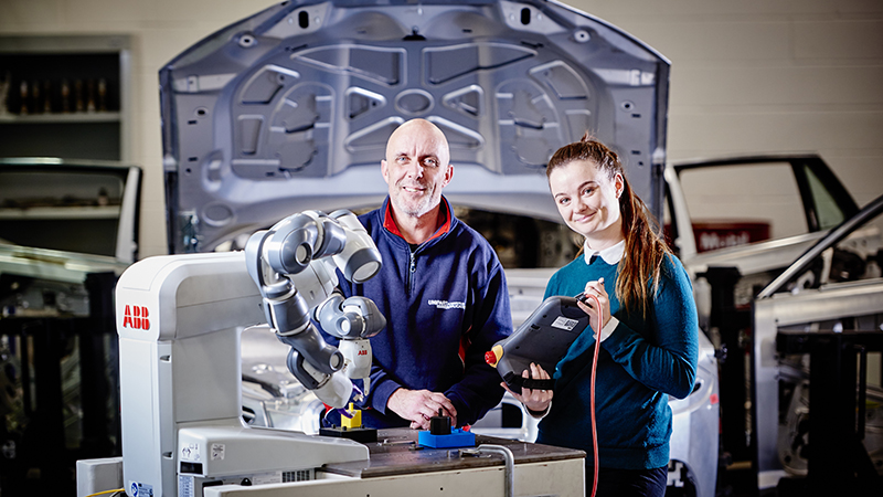 Students at AME gain experience of real-world manufacturing challenges  (Credit: AME)