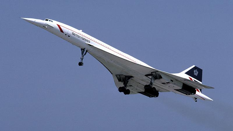 British Airways Concorde G-BOAC (Credit: Eduard Marmet/ Wikimedia)