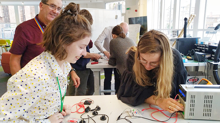 A design cohort of 25 enthusiastic young people has helped to develop the course programme