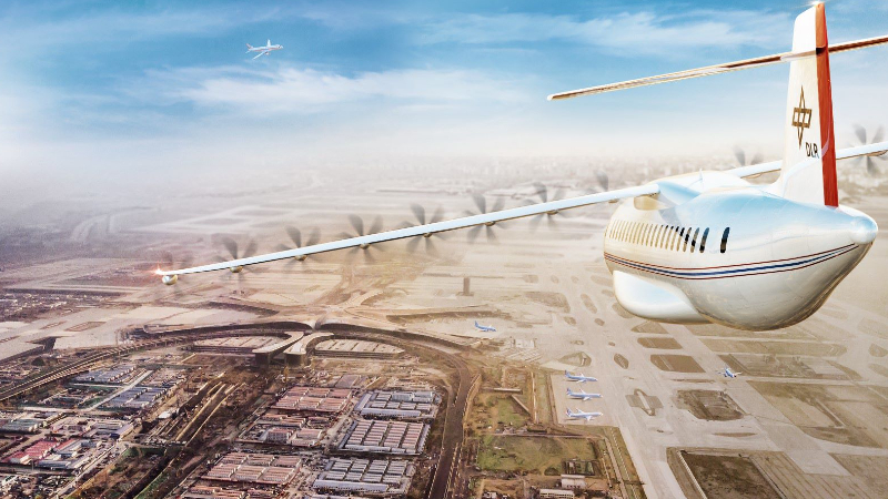 Distributed propulsion could bring many benefits – and some new challenges (Credit: DLR E-Fliegen Hub)