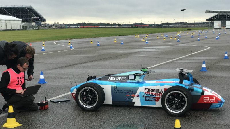 The IMechE's Autonomous Driving Systems – Drone Vehicle is leading the way for developing autonomous driving capabilities among student engineers