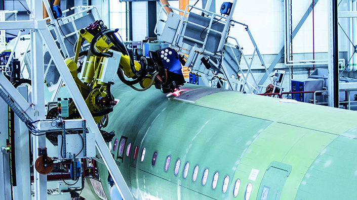Articulated robots are finally starting to make a real impact on aerospace manufacturing