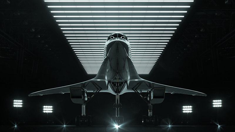 Boom Supersonic hopes to bring commercial supersonic flight back to the skies (Credit: Boom Supersonic)