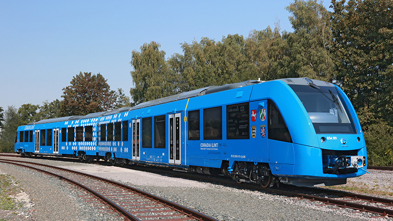 14 of Alstom's hydrogen-powered iLint trains should begin service in Germany from 2021