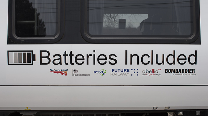 The partners on a 2015 trial of a battery-powered unit