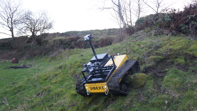 IBEX robot is designed to traverse difficult farming terrain