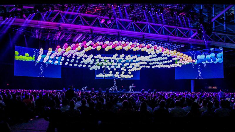 The LiveWorx opening ceremony (Credit: PTC)