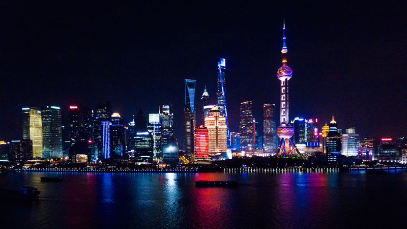 The Shanghai skyline (Credit: iStock)