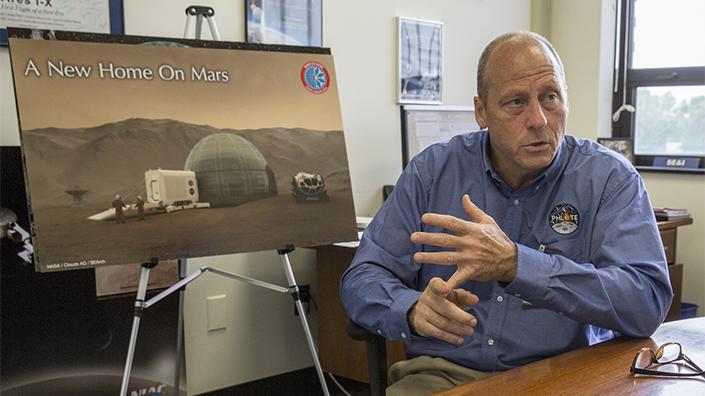 NASA's Kevin Kempton (Credit: NASA)