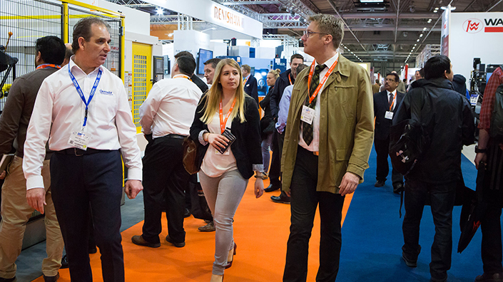 Visitors explore the MACH 2018 conference (Credit: MTA)
