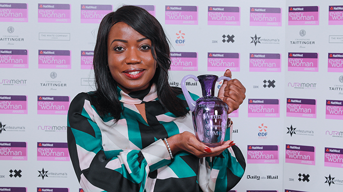 Roni Savage recently won the Athena Award for most inspirational woman running a business trading for 6-9 years at the NatWest Everywoman Awards