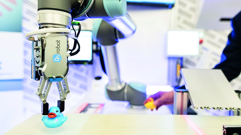 Denmark is the unlikely heart of the European robotics industry. What's behind the country's success in automation? (Credit: OnRobot)