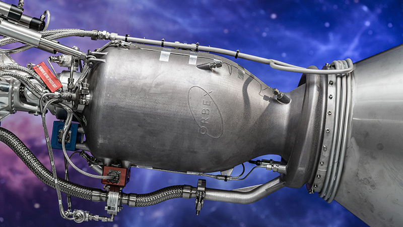 3D printing rocket engines offers cost and time savings, said Orbex CEO Chris Larmour (Credit: Orbex)