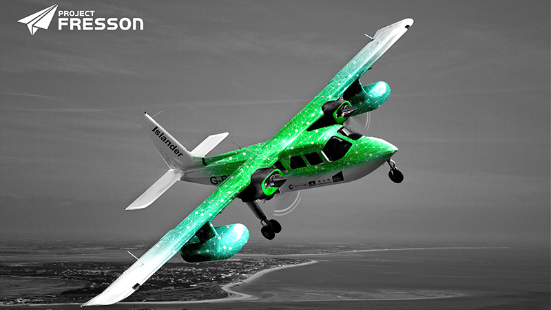 Project Fresson aims to use hydrogen fuel cells for commercially viable sustainable flight (Credit: Project Fresson)