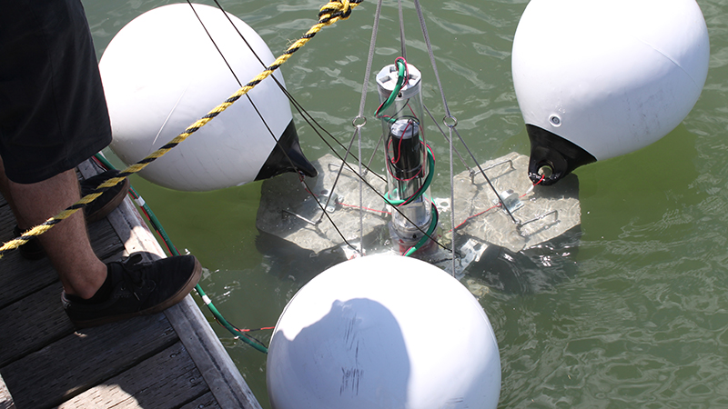 Whirl Energy relies on SOLIDWORKS design, structural analysis, CFD analysis and PDM solutions to develop a submerged buoy approach to storing excess electrical power generated from renewable sources