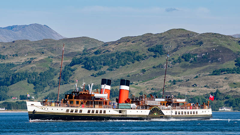 PS Waverley has to carry enough passengers on its scenic pleasure trips to ensure its survival as a working vessel