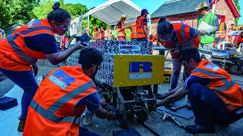 The IMechE's Railway Challenge fosters new talent