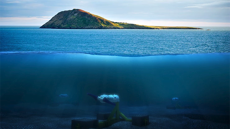 Nova Innovation said the project could help the 'Island in the Currents' switch from a dependency on diesel generation to become the world's first blue energy island (Credit: Nova Innovation)