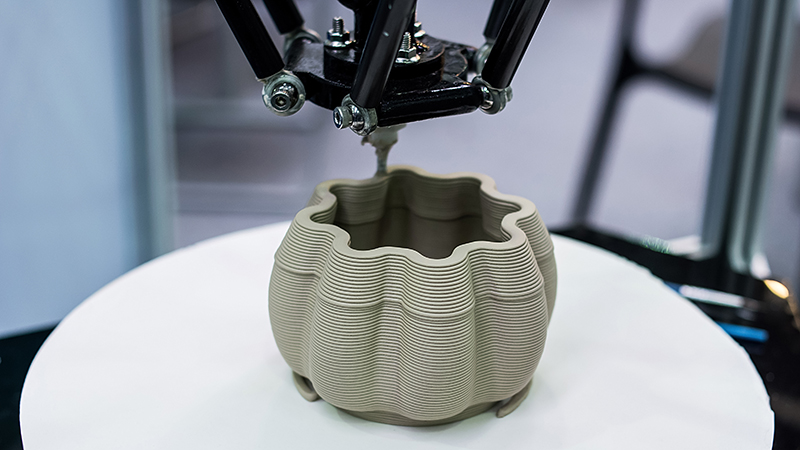 Although ceramics are perhaps best known as materials for pottery, they are useful for many high-tech applications (Credit: Shutterstock)