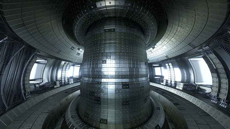 Tokamak reactors are a promising technology in the development of viable nuclear fusion (Credit: Shutterstock)