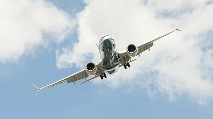 The two Boeing 737 Max crashes overshadowed the show (Credit: Shutterstock)
