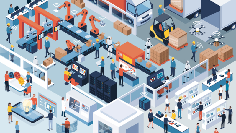 The edge is key to maximising the benefits of connected devices in smart factories (Credit: Shutterstock)