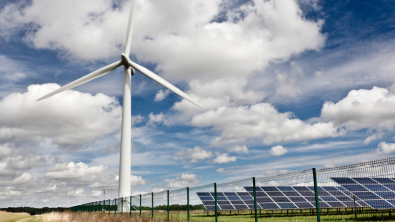 Stock image. The hybrid system could aid the smooth transition to renewable power by compensating for variable sources such as wind and solar (Credit: Shutterstock)
