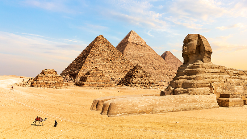 One of the monorails will go to Giza (Credit: Shutterstock)